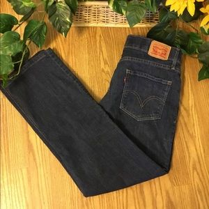 Levi's Perfect Waist Crop Straight Leg Jeans. 10